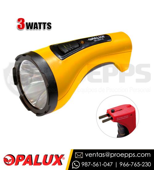 linterna-3w-opalux-op-4231a-recargable