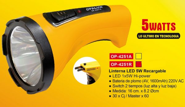 linterna-5w-opalux-op-4251a-recargable