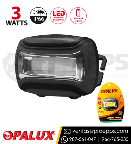 Linterna Frontal Opalux OP-1102NG 3W